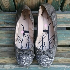 Sam and Libby Ballet Flats with Rhinestones